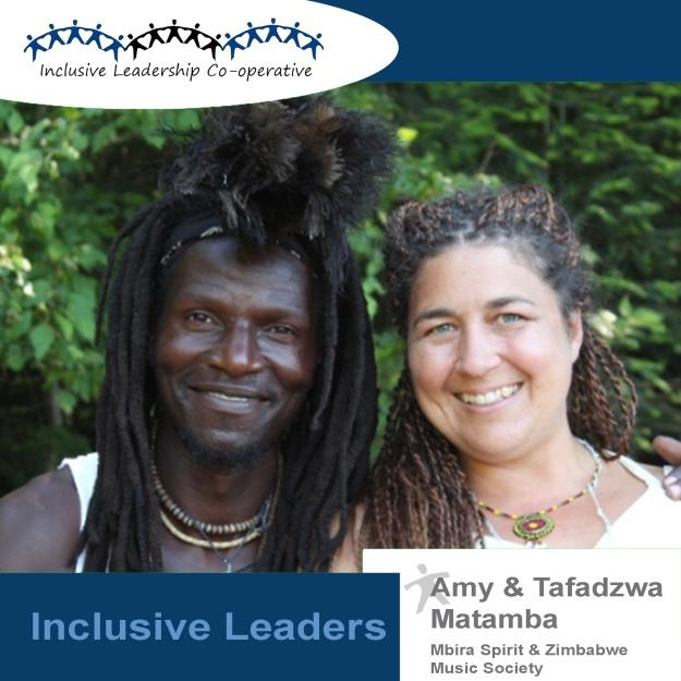 """Be aware of all who are present. Accept without judgement."" (Amy and Tafadzwa Matamba of Mbira Spirit and Zimbabwe Music Society)"