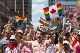 trudeau gay pride